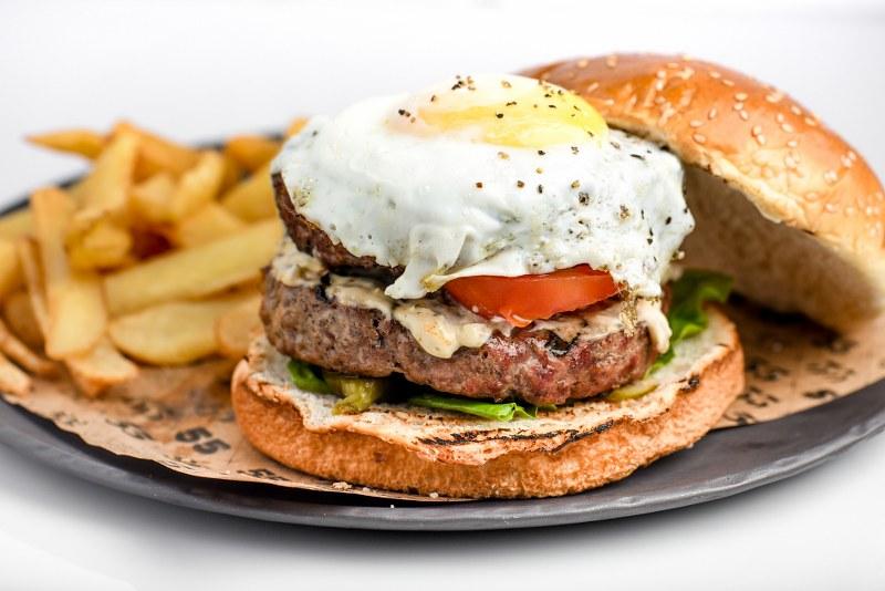 55 המבורגר